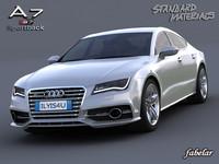 Audi A7 S7 Sportback 2012(1)