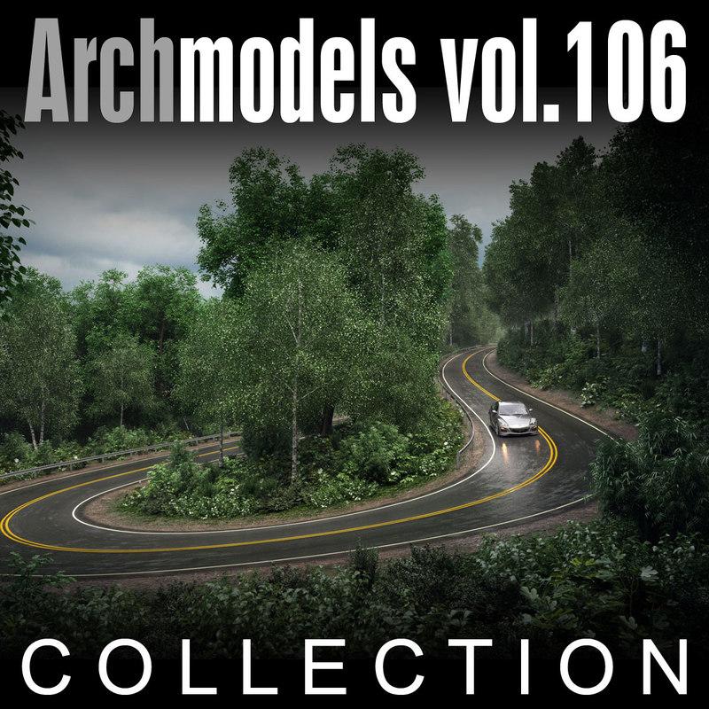 archmodels vol 106 trees max