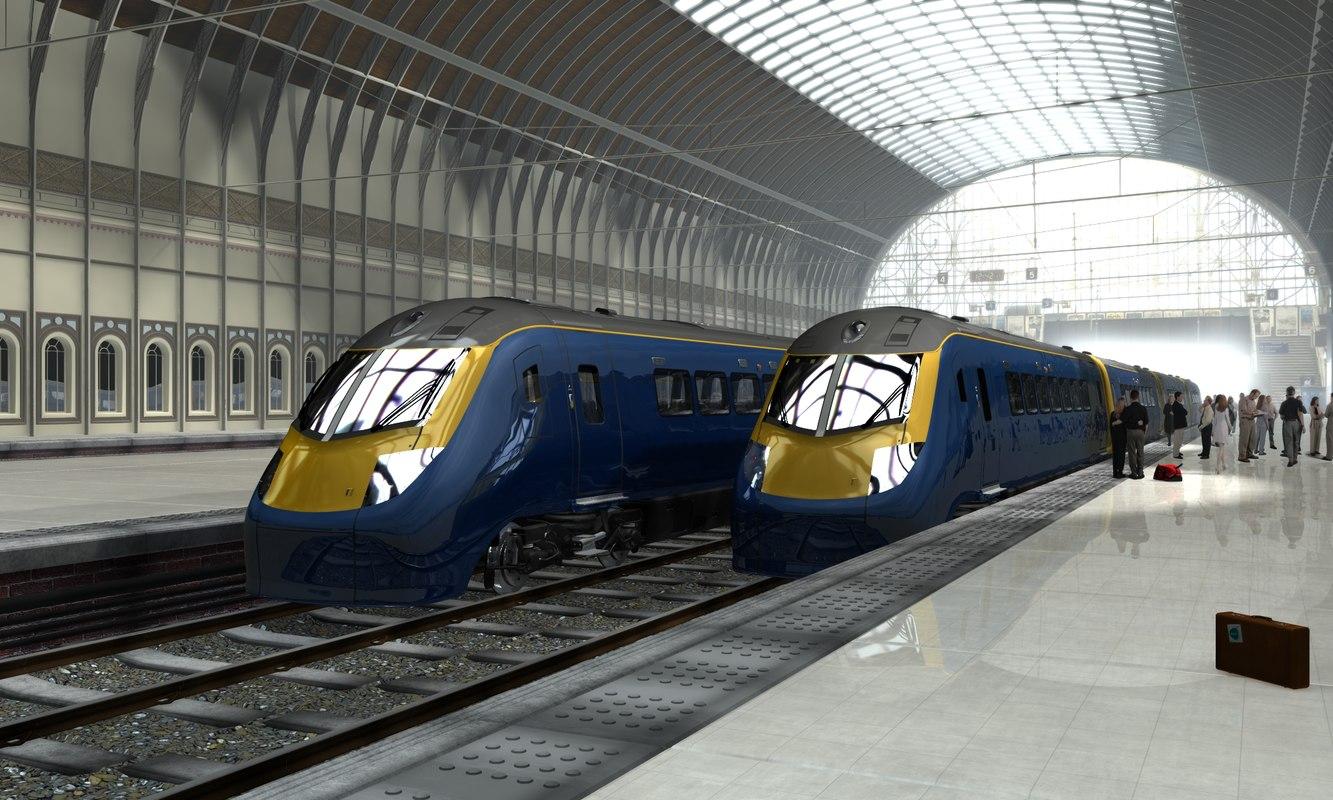 uk train 3d lwo
