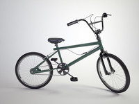 3d model bike freestyle