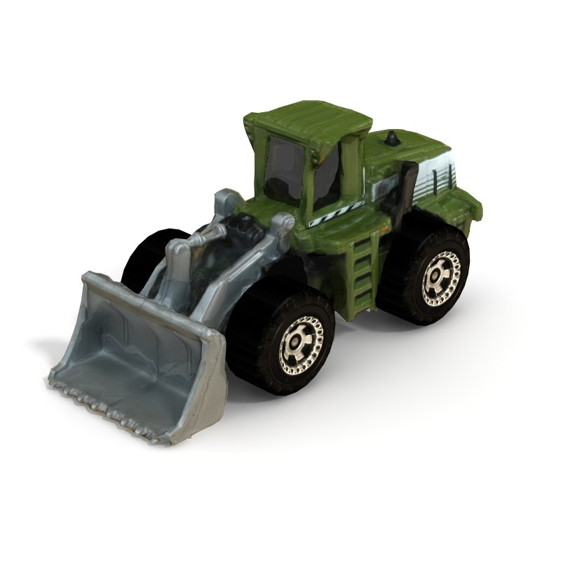 bulldozer games loader 3d model