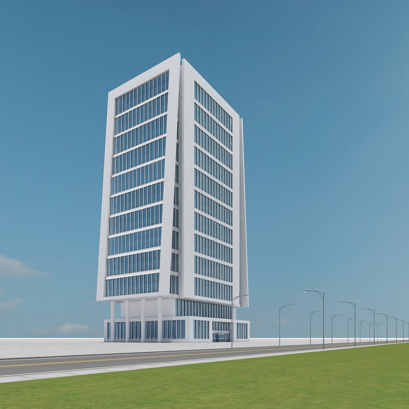 3d new skyscraper