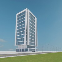 3d new skyscraper