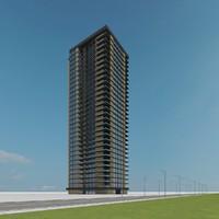 new skyscraper 36 3d model