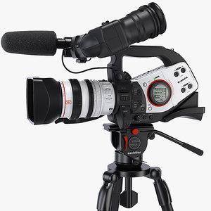 max canon xl2 3ccd professional