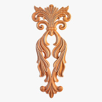 Carved Decorative Element