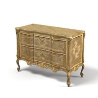 chelini classic baroque 3d model