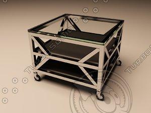 3d eichholtz table prado model