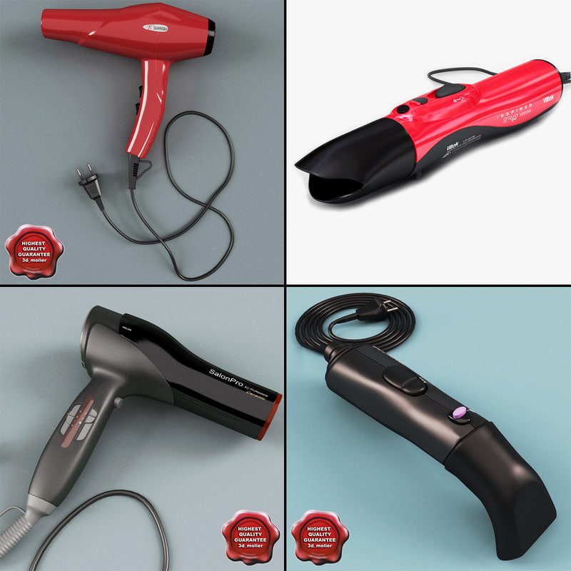 hair dryers v2 3ds