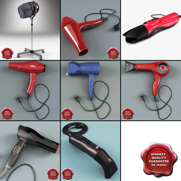 3d hair dryers 4
