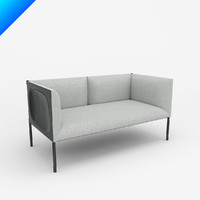 maya hollow 2-seat sofa 136