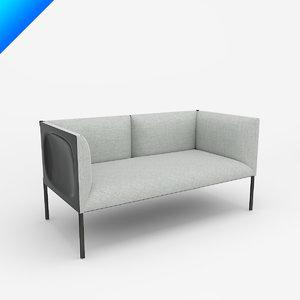 maya hollow 2-seat sofa 136