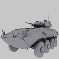 LAV-25 USMC APC Game Model