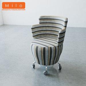 orangebox tarn chair 3d model