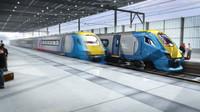 Meridian UK passenger Train