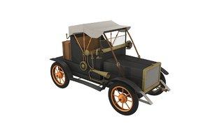 old car 30s 3d model