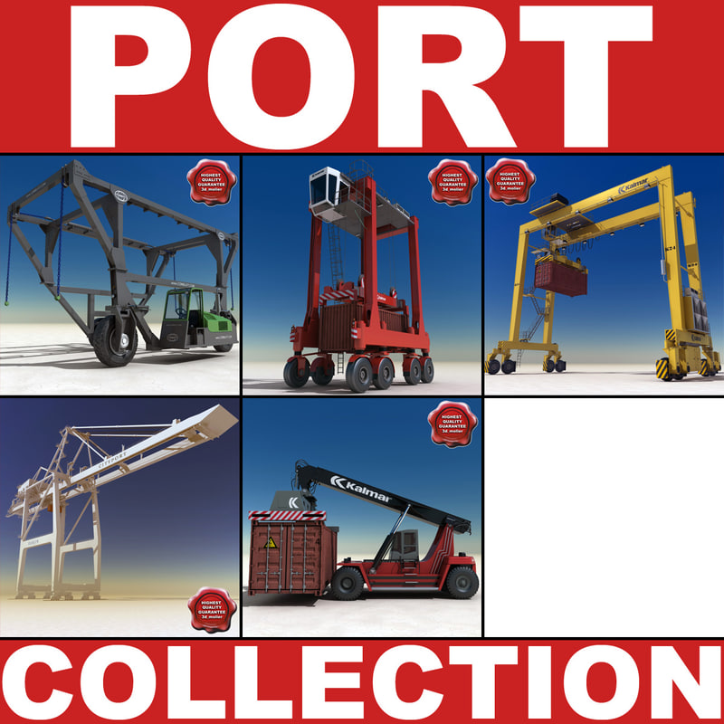 3d model port v4