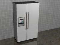 3d refrigerator design model