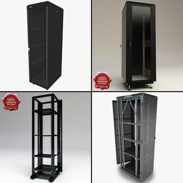 servers v2 3d model