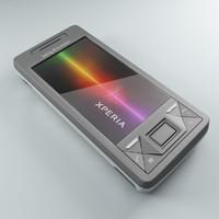 sony ericsson xperia x1 3d model