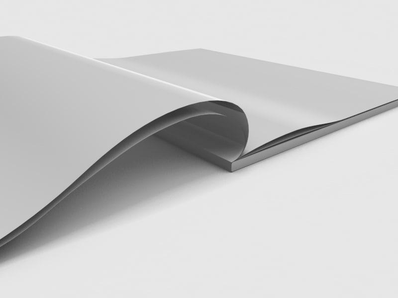 3d model of magazine