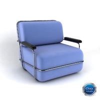armchair chair obj
