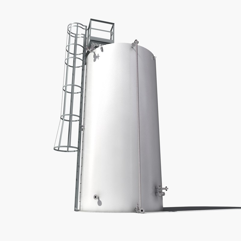3dsmax atmospheric tank storage