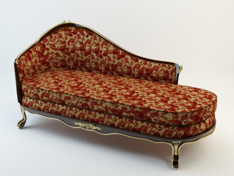 3d model upholstery stool