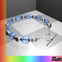 3d 3ds jewelry bling bracelet