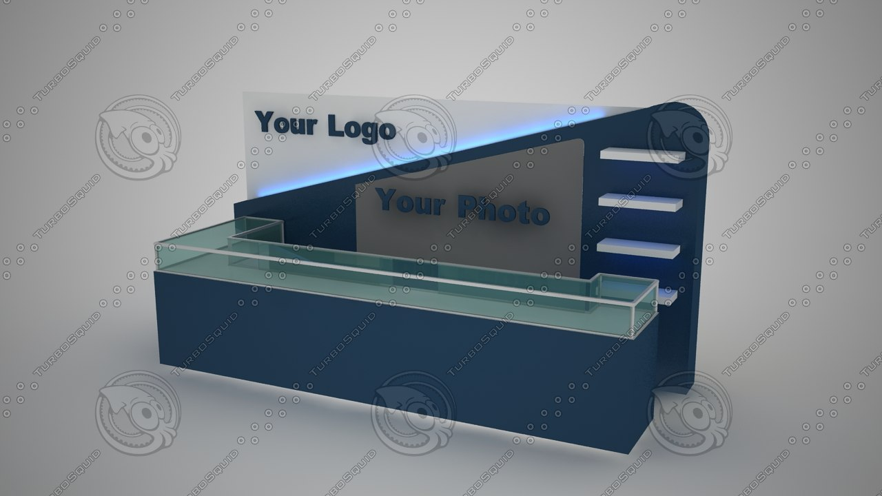 stand design 3d max