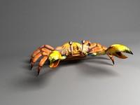 crab 3d model