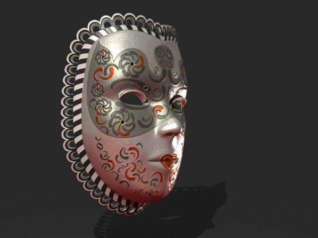 3ds max venetian mask