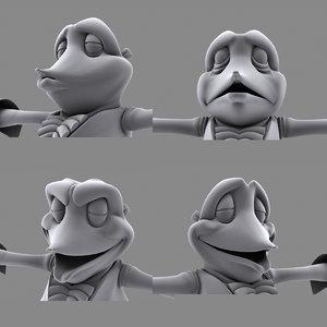 free animation 3d model
