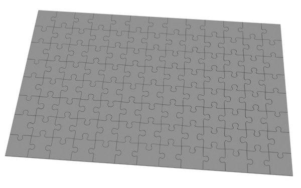 3d model puzzle 104 pieces