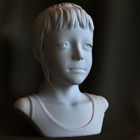 3d printable print sculpture sarah