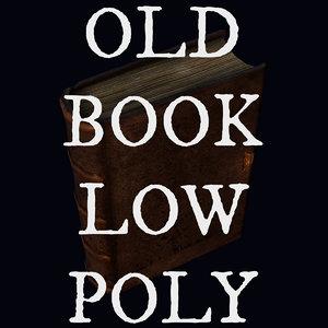 old book 3d obj