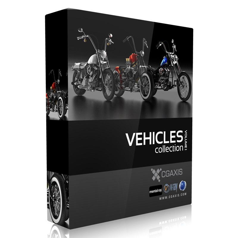 vehicles volume 1 3d model
