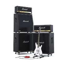 Marshall JCM 800 The Full Stack with Ibanez Guitar
