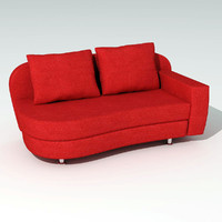 modern couch 3d max