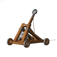 3ds max catapult