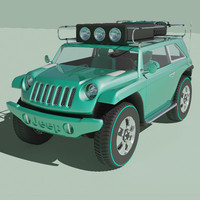 3d model jeep willys 2