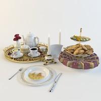3d model teapot tea cup