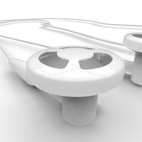 3d earphones mini jack