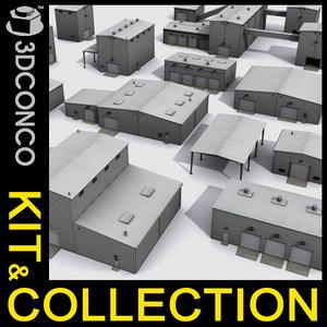 max warehouse kit hangars buildings