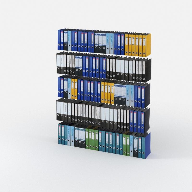 3d folder model