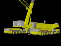 mobile crane ac650 dwg