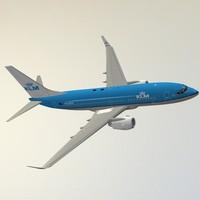 boeing 737-700 klm obj