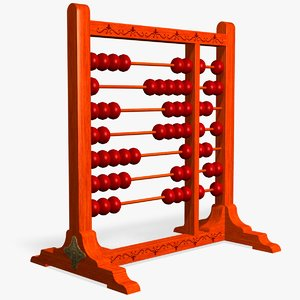 abacus 3d model