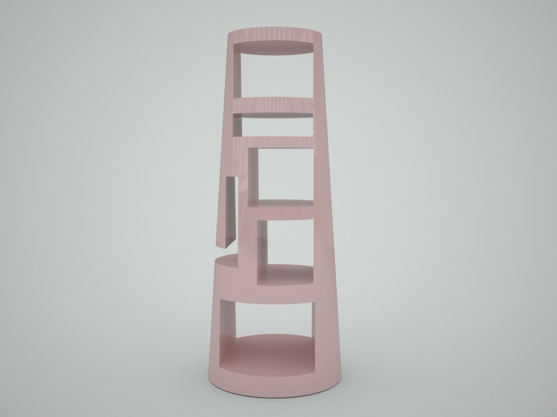 bookcase design dwg free