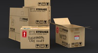 3d corrugated box